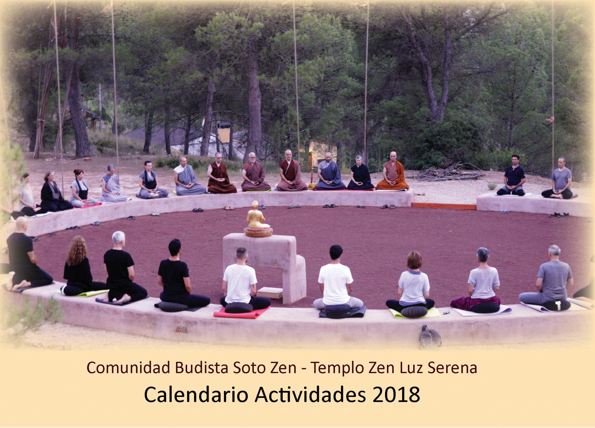 Calendario de Actividades 2018 CBSZ