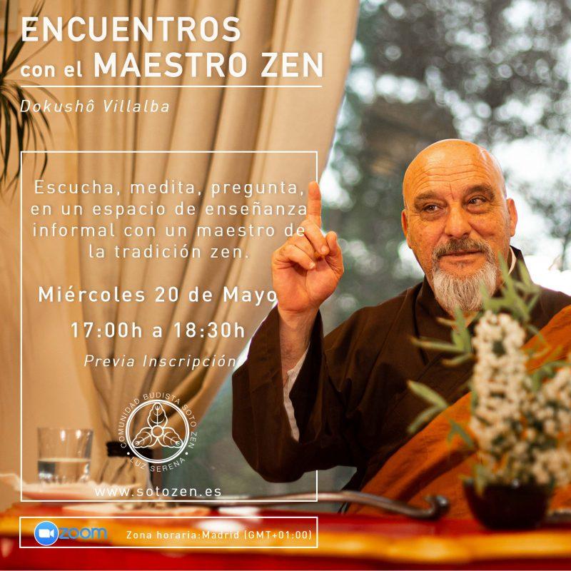 Encuentros con el maestro zen Dokushô Villalba