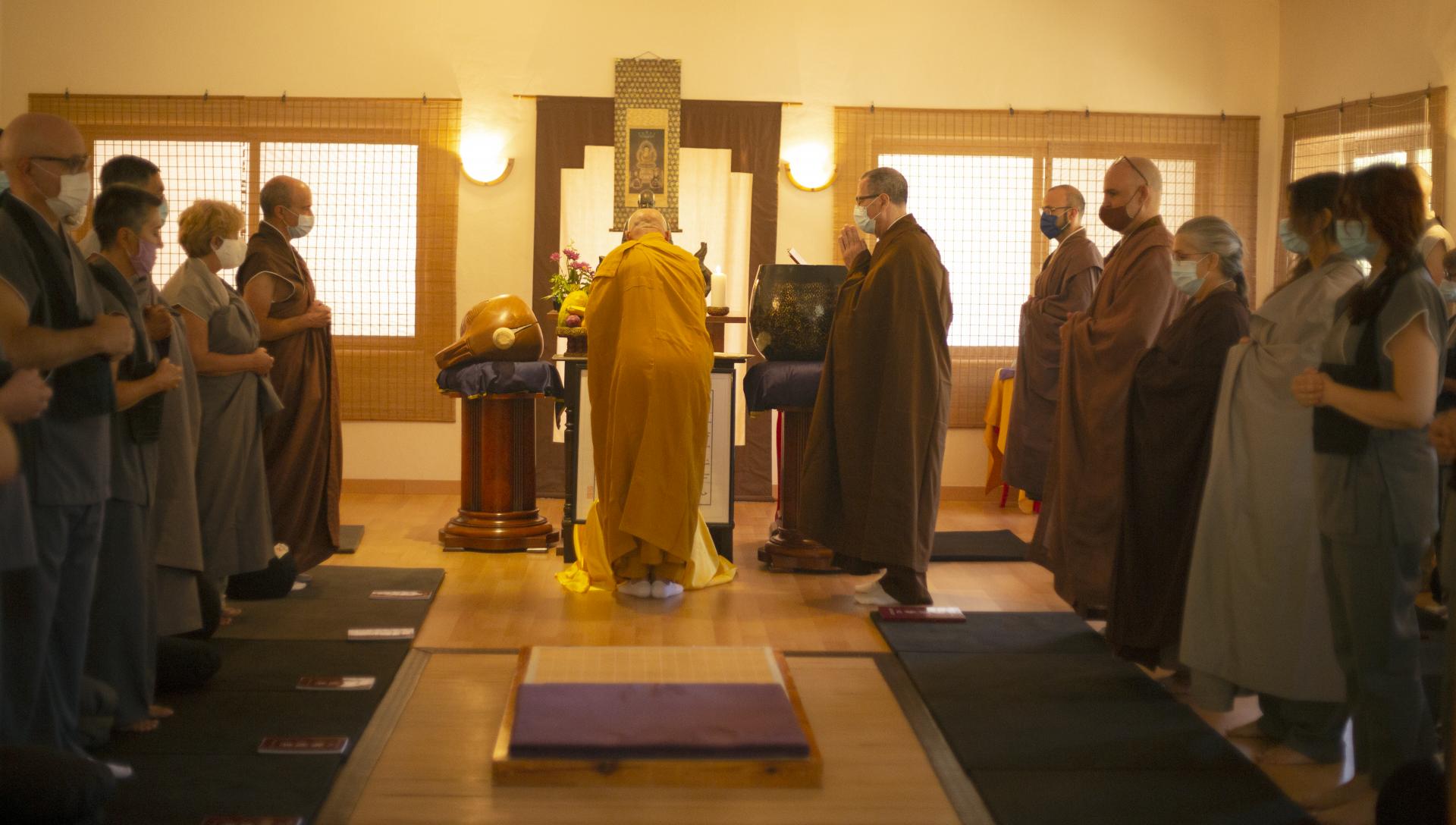 Jukai, ordenación de bodhisattva.