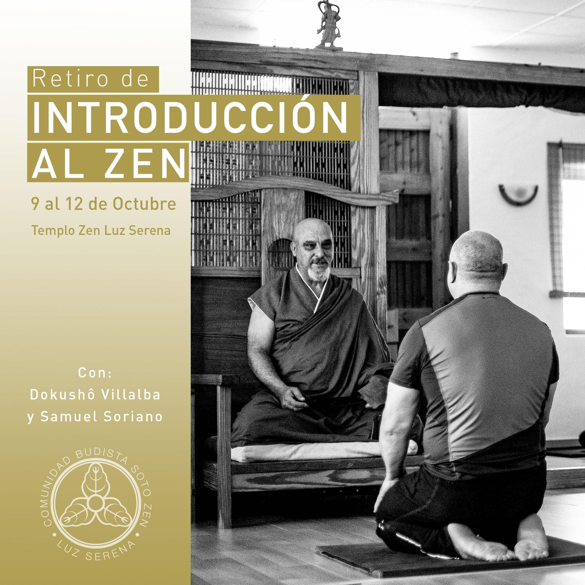 Retiro Introducción al Zen